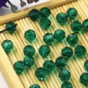 Beads, Auralescent Crystal, Crystal, Dark teal , Faceted Rounds, Diameter 6mm, 10 Beads, [ZZC239]